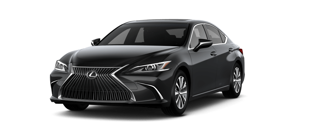 Lexus ES 250 AWD front side view